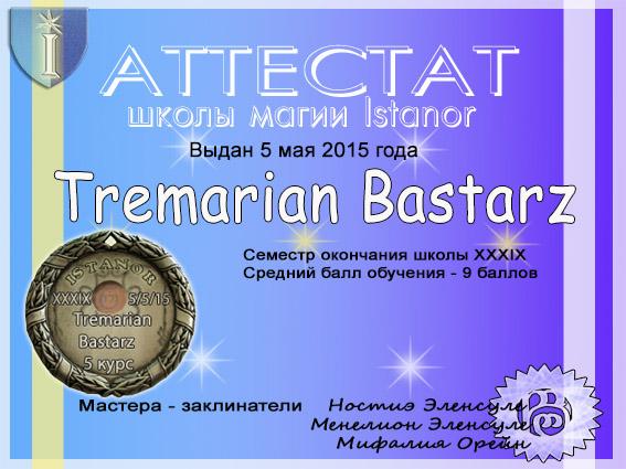 Серебряная медаль Tremarian